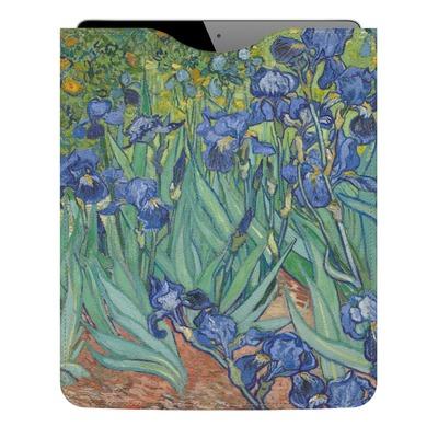 Irises (Van Gogh) Genuine Leather iPad Sleeve