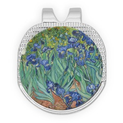 Irises (Van Gogh) Golf Ball Marker - Hat Clip