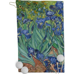 Irises (Van Gogh) Golf Towel - Full Print