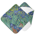 Irises (Van Gogh) Hooded Baby Towel