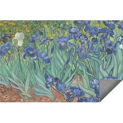 Irises (Van Gogh) Indoor / Outdoor Rug