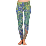 Irises (Van Gogh) Ladies Leggings
