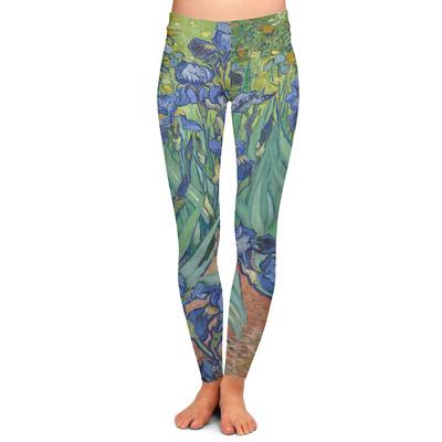 Irises (Van Gogh) Ladies Leggings
