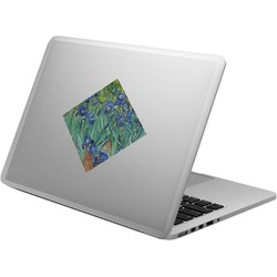 Irises (Van Gogh) Laptop Decal