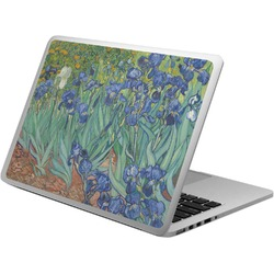 Irises (Van Gogh) Laptop Skin - Custom Sized