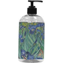 Irises (Van Gogh) Plastic Soap / Lotion Dispenser