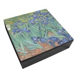 Irises (Van Gogh) Leatherette Keepsake Box - 3 Sizes