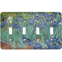 Irises (Van Gogh) Light Switch Cover (4 Toggle Plate)