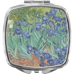 Irises (Van Gogh) Compact Makeup Mirror
