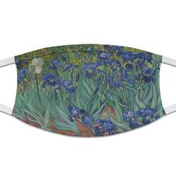 Irises (Van Gogh) Cloth Face Mask (T-Shirt Fabric)