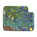 Irises (Van Gogh) Memory Foam Bath Mat