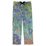 Irises (Van Gogh) Mens Pajama Pants