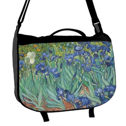 Irises (Van Gogh) Messenger Bag