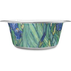Irises (Van Gogh) Stainless Steel Pet Bowl