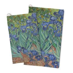 Irises (Van Gogh) Microfiber Golf Towel