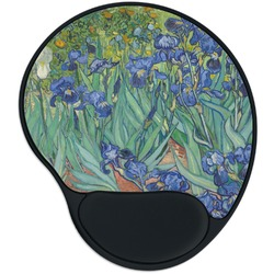 Irises (Van Gogh) Mouse Pad with Wrist Support