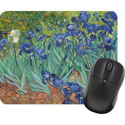 Irises (Van Gogh) Rectangular Mouse Pad