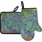 Irises (Van Gogh) Oven Mitt & Pot Holder