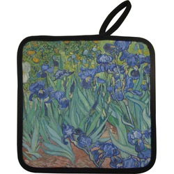 Irises (Van Gogh) Pot Holder