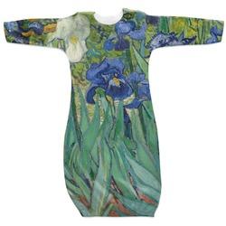 Irises (Van Gogh) Newborn Gown