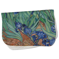 Irises (Van Gogh) Burp Cloth - Fleece