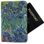 Irises (Van Gogh) Passport Holder - Fabric