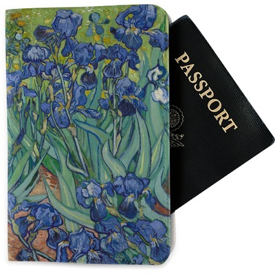 Irises (Van Gogh) Passport Holder - Fabric
