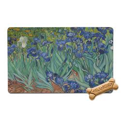 Irises (Van Gogh) Pet Bowl Mat