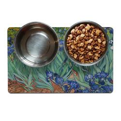 Irises (Van Gogh) Dog Food Mat