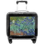 Irises (Van Gogh) Pilot / Flight Suitcase