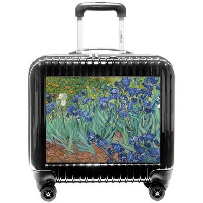 Irises (Van Gogh) Pilot / Flight Suitcase