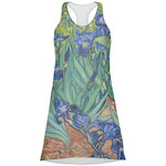 Irises (Van Gogh) Racerback Dress