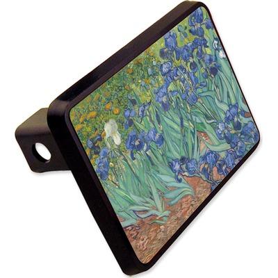 "Irises (Van Gogh) Rectangular Trailer Hitch Cover - 2"""