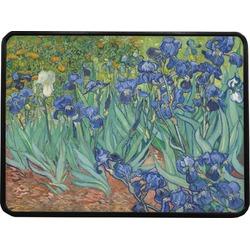 "Irises (Van Gogh) Rectangular Trailer Hitch Cover - 1.25"""