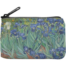 Irises (Van Gogh) Rectangular Coin Purse