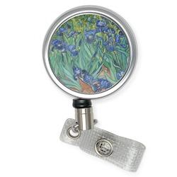 Irises (Van Gogh) Retractable Badge Reel