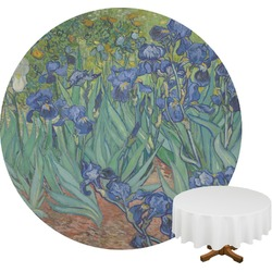 Irises (Van Gogh) Round Tablecloth