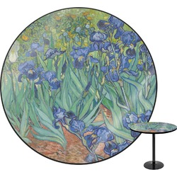 Irises (Van Gogh) Round Table