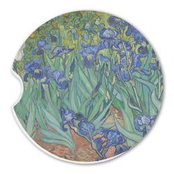 Irises (Van Gogh) Sandstone Car Coasters
