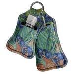 Irises (Van Gogh) Hand Sanitizer & Keychain Holder