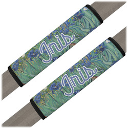 Irises (Van Gogh) Seat Belt Covers (Set of 2)