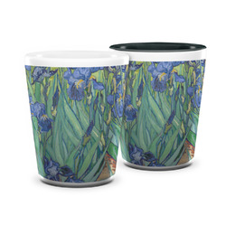 Irises (Van Gogh) Ceramic Shot Glass - 1.5 oz