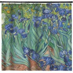 Irises (Van Gogh) Shower Curtain