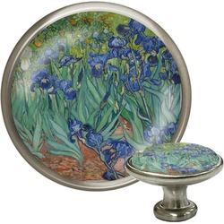 Irises (Van Gogh) Cabinet Knob (Silver)