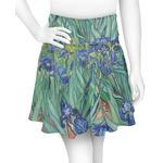 Irises (Van Gogh) Skater Skirt