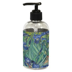 Irises (Van Gogh) Plastic Soap / Lotion Dispenser (8 oz - Small)