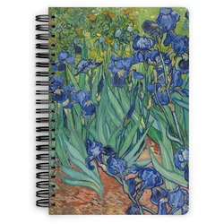Irises (Van Gogh) Spiral Bound Notebook