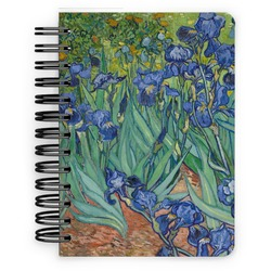 Irises (Van Gogh) Spiral Bound Notebook - 5x7