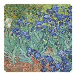 Irises (Van Gogh) Square Decal - Medium