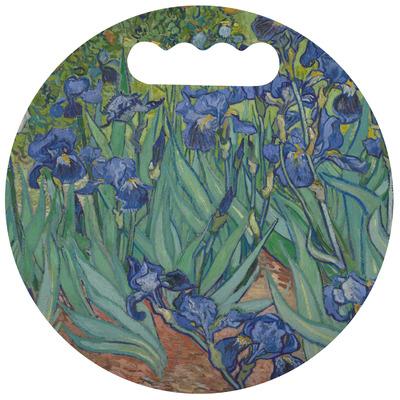 Irises (Van Gogh) Stadium Cushion (Round)